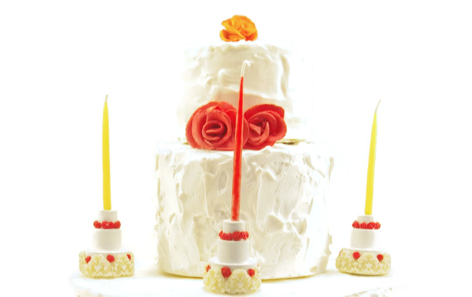 Birthday Cake Candle Holders