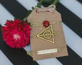 GRYFFINDOR Harry Potter Bracelet Stack