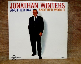 JONATHAN WINTERS - Another Day Another World - 1962 Vintage Vinyl Record Album