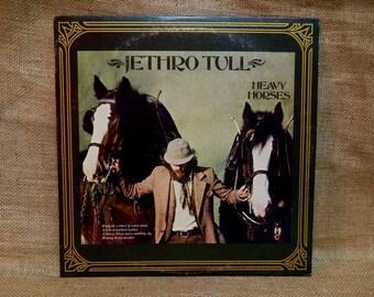 Jethro Tull - Heavy Horses - 1978 Vintage Vinyl Record Album
