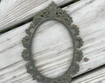 Metal Frame Gothic Picture Frame Victorian Ornate Frame