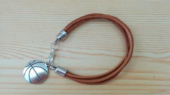 Basket bracelet, mens bracelet, basket cuff, sports bracelet, sports cuff,mens cuff,dad bracelet, basketball bracelet,basketball cuff