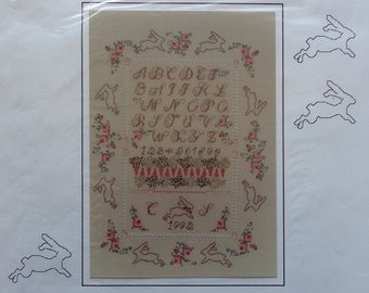 Cross Stitch Pattern YESTERDAY'S DREAMS 1992 SAMPLER By Cheryl Schaeffer