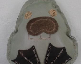 Leather plush Imaginamal - Beaver
