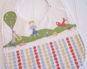 CLEARANCE/SWEET NATURALS/Organic Line/Toddler Bib/12--24 mo./Storyboek Two
