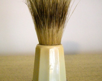 Vintage Bakelite 100 Rubberset Silvertip Badger Brush Shaving