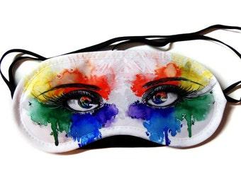 Eyes of Color - Sleeping Mask // Eye Mask // <3