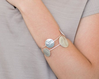 Silver Cuff Bracelet, urban cuff bracelet, silver cuff bracelet, cuff bracelet, cuff bracelet silver, silver urban bracelet, urban cuff