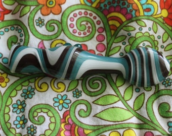Hand Blown Glass Cigarette Holder - Inside Out- Native