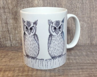 Owl Mug, owls, owl, owly, mug, cup, homeware, gift for owl lovers, gifts for kids, children, sweet gifts, gifts for animal lovers, bird