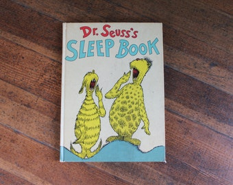 Vintage Children's Book - Dr. Seuss's Sleep Book (1962)