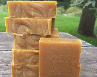 Neem + Turmeric Facial Soap with yogurt, lactic acid