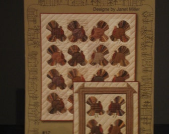 Turkey Time Quilt Pattern and Instructions
