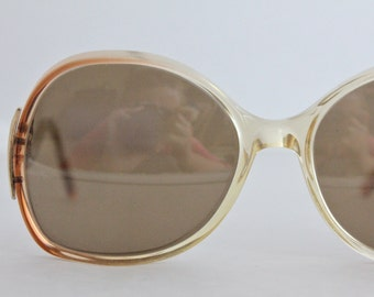 Vintage 70's Shuron Honey Drop Arm Eyeglasses Frames