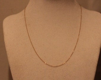 Vintage 14K Yellow Gold Chain
