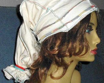 Festival Slouch Hat, 100% Cotton Jersey, Handmade Fun!