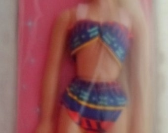 "Vintage Doll Long Hair, Diana, In Original Package, Fashion Doll, 11 1/2"", Wearing Bathing Suit, Coventry Products, Blonde, Collectible"
