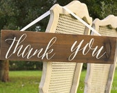 Thank You Signs, Wedding Thank You Sign, Wooden Thank You Sign, Rustic Thank You Sign, Wedding Thank You Signs, Thank You Signs Wedding