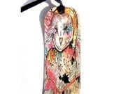 Bookmark - Handmade Bookmark - Book gift - Owl Bookmark - Owl art - Nature bookmark - Art Bookmark - animal bookmark - Animal bookmark