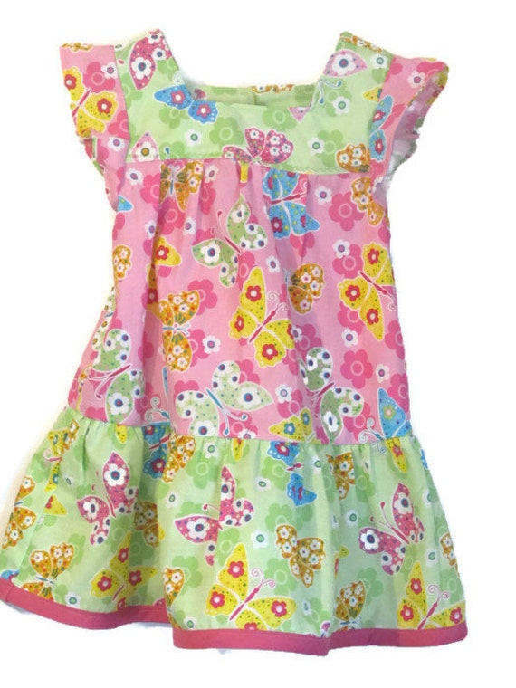 Ruffle Dress - Baby Girl Jumper - Baby Sun Dress - Girl's Clothes - Baby Fashion -  Baby Boutique - Baby Outfit - Size 18m.