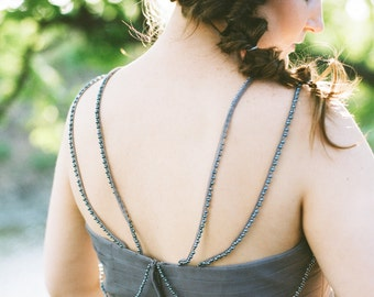 Bridal Hair Comb. Gold Bridal Headpiece. Wedding Gold Hair Piece {Eugenia}