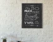 Best Friend Quote, Romantic Quote, Friendship Quote, Love Quote Print, A. A. Milne Quote