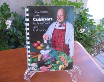 Cookbook CUISINART Food Processor by James A. Beard and Carl Jerome