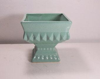 Vintage/Mid-Century Green Glaze Planter, Pottery