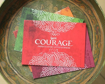 Courage - Greeting Card