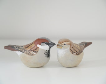 Custom Wedding Cake Topper Birds