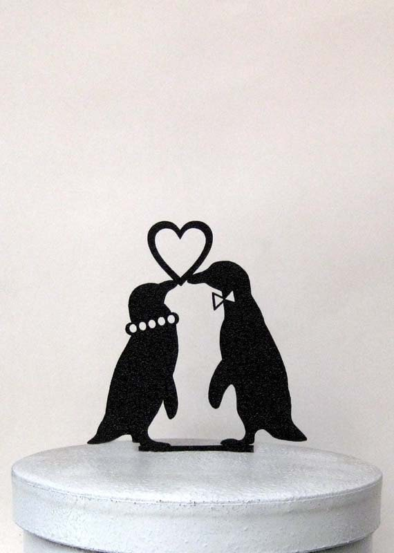 wedding cake toppers penguins - 28 images - mae inspired quot say ...