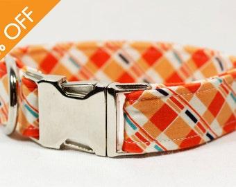 30% OFF: Orange Sherbert Collar