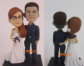 Cylon Wedding Cake Topper