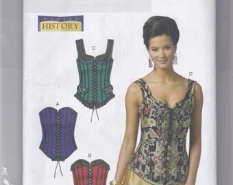 B5662 Butterick Corsets Sewing Pattern Sizes 6-8-10-12-14