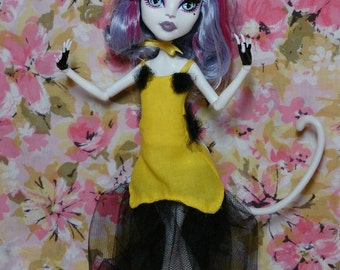 Human Luna from Sailor Moon for Monster High doll (free shipping to US)