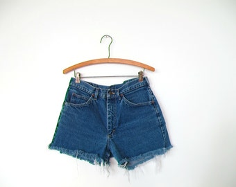 Vintage high waisted Lee cut off shorts