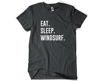 Windsurfing Shirt-Eat Sleep Windsurf Shirt for Windsurfer Men Women
