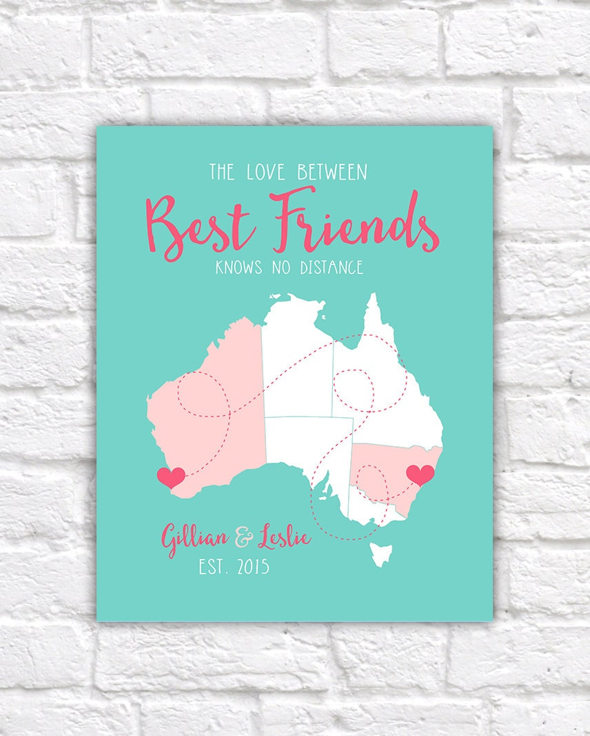 Friend Gifts, Best Friend Birthday, Australia BFF