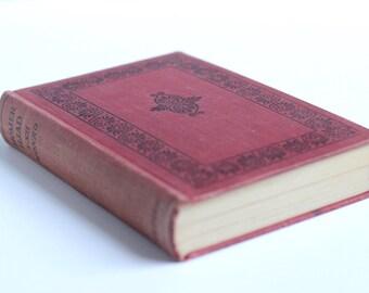 Homer's Iliad Volume I, Ancient Greek Textbook, midcentury vintage book, Epic Poem, Classical Literature, Western Canon VBK01200
