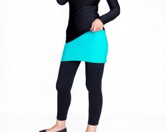 Yoga Skirt, Shirt extender, Belly Band, Leggings Skirt, Waist Warmer, Yoga Wear, Belly Warmer, Mini Skirt, Hippie Skirt, Yoga Waist Skirt