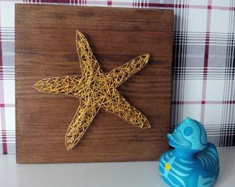 SEA STAR String Art
