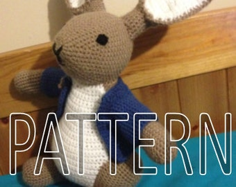 Peter Rabbit Crochet Pattern