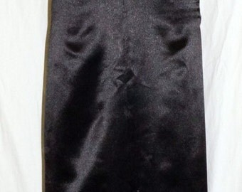 1930s Satin Bias Cut Evening Gown Sz 10 Glam