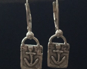 Earrings: Anchors Aweigh! & Hope - Sterling Silver