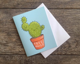Cuddly Cactus Greeting Card *Updated*