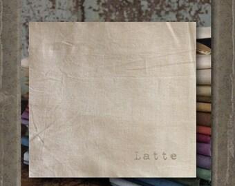 Fabric 1 YARD: Aged Muslin Cloth (New) - Latte 141D Marcus Fabrics
