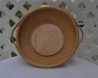 """9"""" Round Nantucket Basket"""
