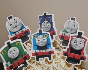 Thomas the Train and Friends Cupcake Toppers Set of 12