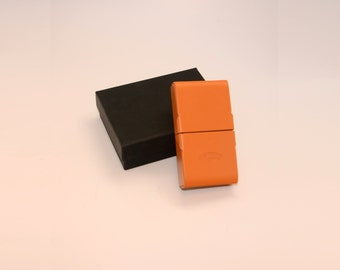 Giorgio Fedon 1919 Savinelli Small Cigar Case (Mustard Yellow)