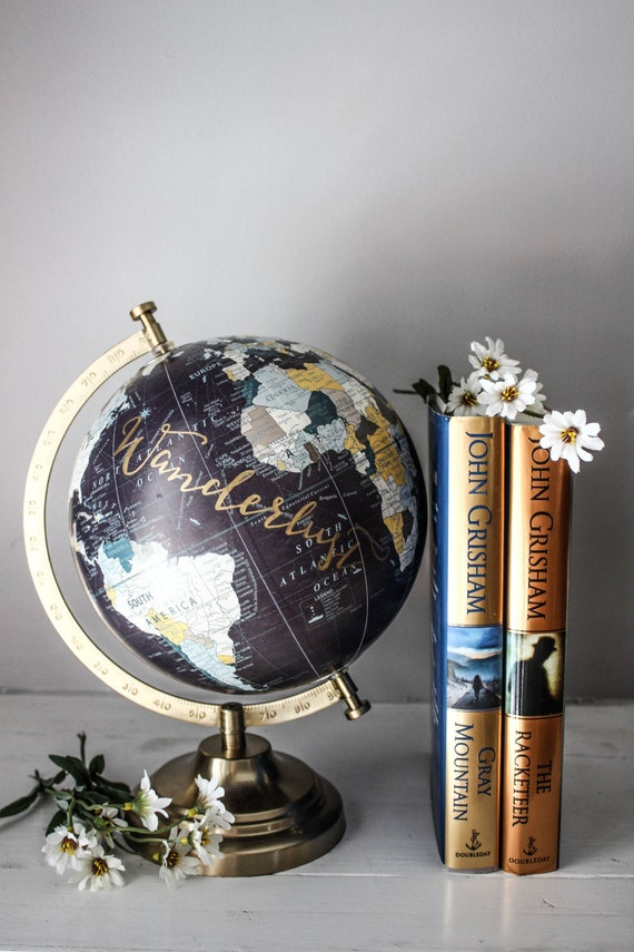 Beautiful wanderlust globe
